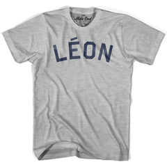Leon City Vintage T-shirt in Grey Heather by Mile End Sportswear