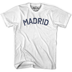 Madrid City Vintage T-shirt in Grey Heather by Mile End Sportswear