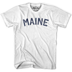 Maine Union Vintage T-shirt in Grey Heather by Mile End Sportswear