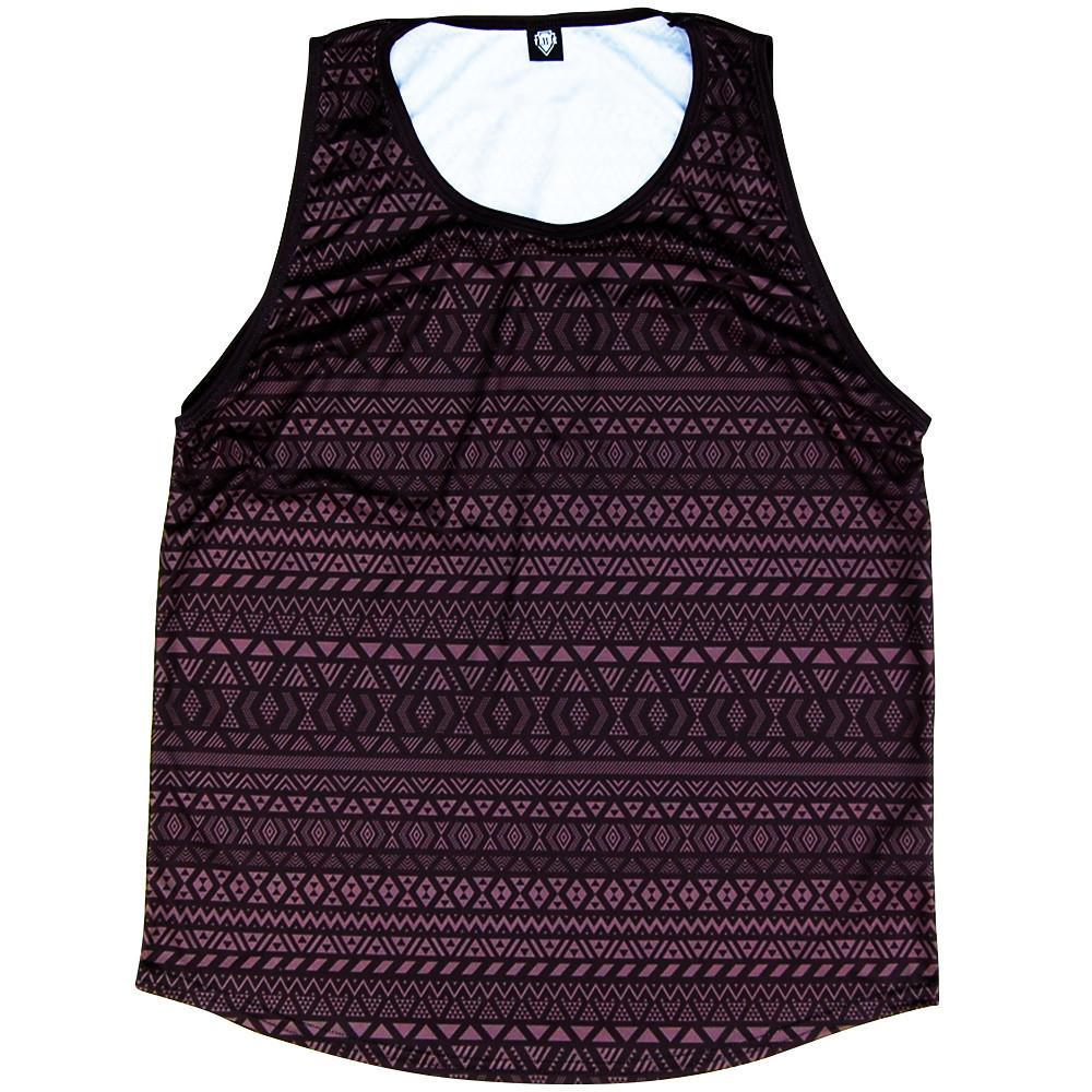 Maori Charcoal Sport Tank in Charcoal by Mile End Sportswear