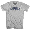 Maputo City Vintage T-shirt in Grey Heather by Mile End Sportswear