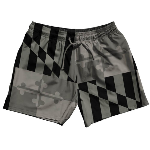 Maryland Flag Swim Shorts 5""