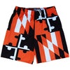 Maryland Flag Orioles Colors Lacrosse Shorts by Tribe Lacrosse