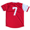 Maryland State Cup Soccer Home Jersey in Red and White by Ultras