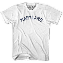 Maryland Union Vintage T-shirt in Grey Heather by Mile End Sportswear