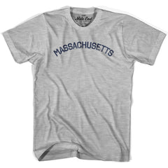 Massachusetts Union Vintage T-shirt in Grey Heather by Mile End Sportswear