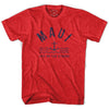 Maui Anchor Life on the Strand T-shirt in Heather Red by Life On the Strand