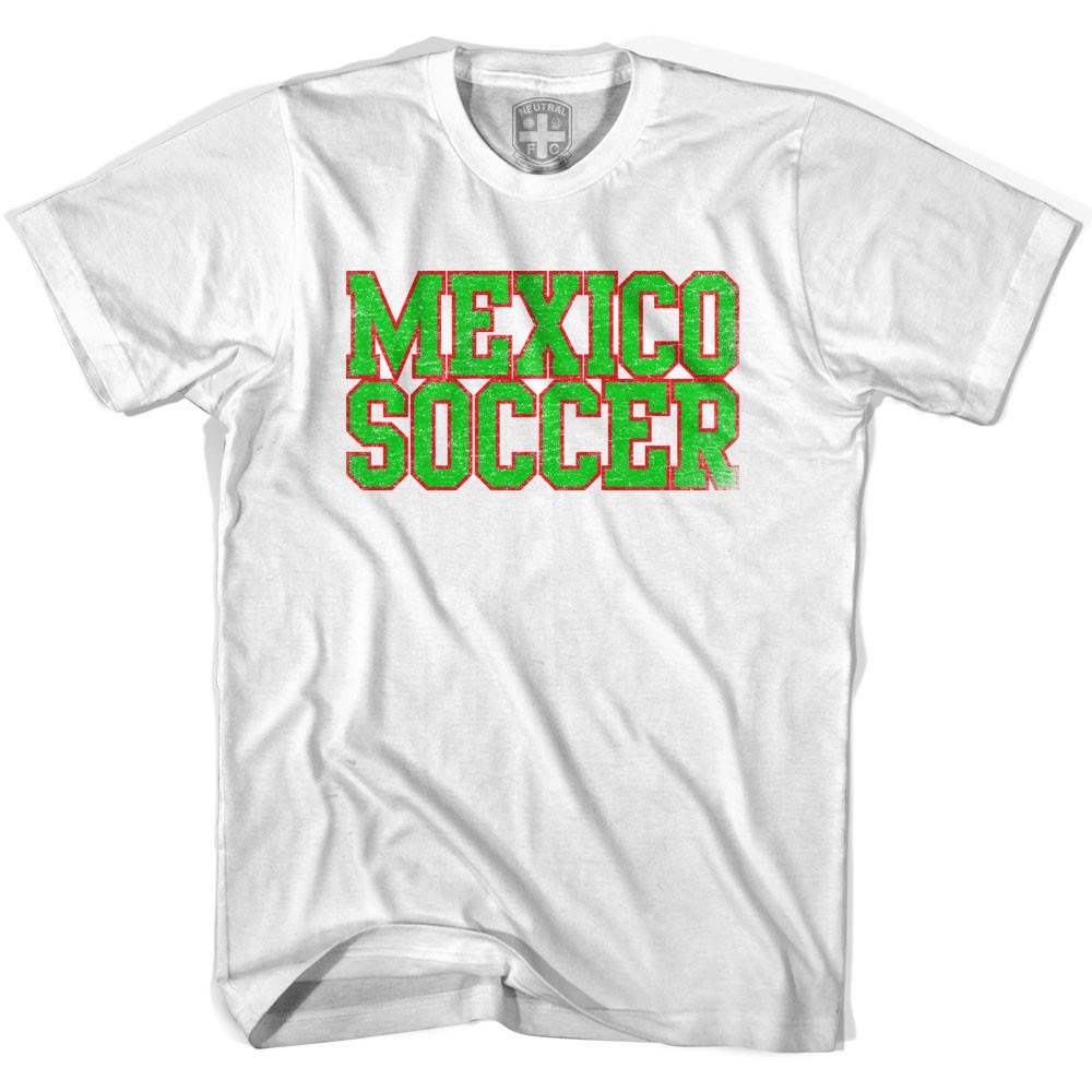 Mexico Soccer Nations World Cup T-shirt in White by Neutral FC