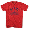 Miami Anchor Life on the Strand T-shirt in Heather Red by Life On the Strand