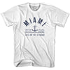 Miami Anchor Life on the Strand T-shirt in White by Life On the Strand