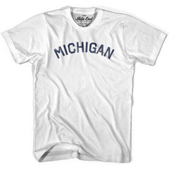 Michigan Union Vintage T-shirt in Grey Heather by Mile End Sportswear