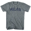 Milan City Vintage T-shirt in Athletic Blue by Mile End Sportswear