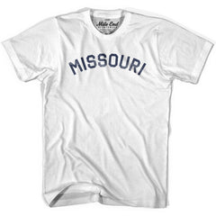 Missouri Union Vintage T-shirt in Grey Heather by Mile End Sportswear