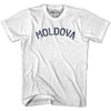 Moldova City Vintage T-shirt in Grey Heather by Mile End Sportswear