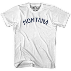 Montana Union Vintage T-shirt in Grey Heather by Mile End Sportswear