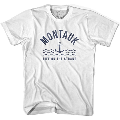 Montauk Anchor Life on the Strand T-shirt