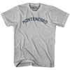 Montenegro City Vintage T-shirt in Grey Heather by Mile End Sportswear