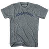 Morgantown City T-shirt in Athletic Blue by Mile End Sportswear