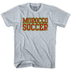Morocco Soccer Nations World Cup T-shirt in White by Neutral FC