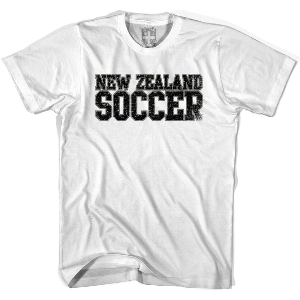 New Zealand Soccer Nations World Cup T-shirt in White by Neutral FC