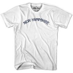 New Hampshire Union Vintage T-shirt in Grey Heather by Mile End Sportswear