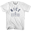 Nice Anchor Life on the Strand T-shirt in White by Life On the Strand