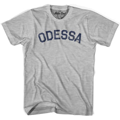 Odessa City Vintage T-shirt in Grey Heather by Mile End Sportswear