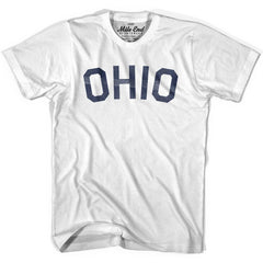 Ohio Union Vintage T-shirt in Grey Heather by Mile End Sportswear