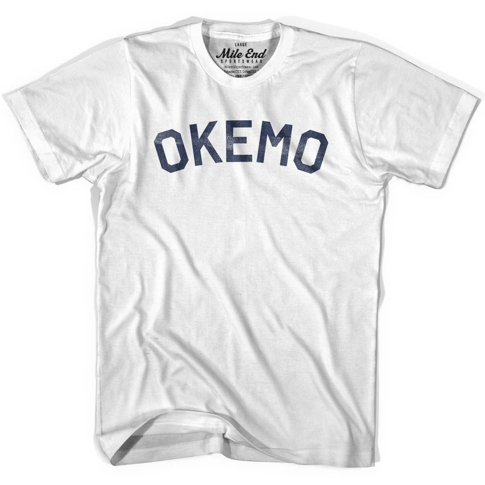 Okemo City Vintage T-shirt in Grey Heather by Mile End Sportswear