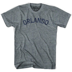 Orlando City Vintage T-shirt in Athletic Blue by Mile End Sportswear