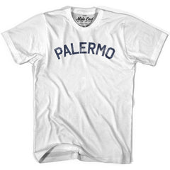Palermo City Vintage T-shirt in Grey Heather by Mile End Sportswear