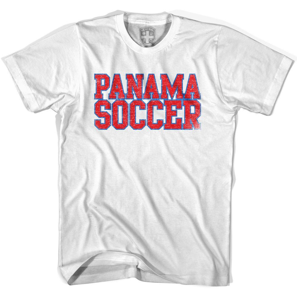 Panama Soccer Nations World Cup T-shirt in White by Neutral FC