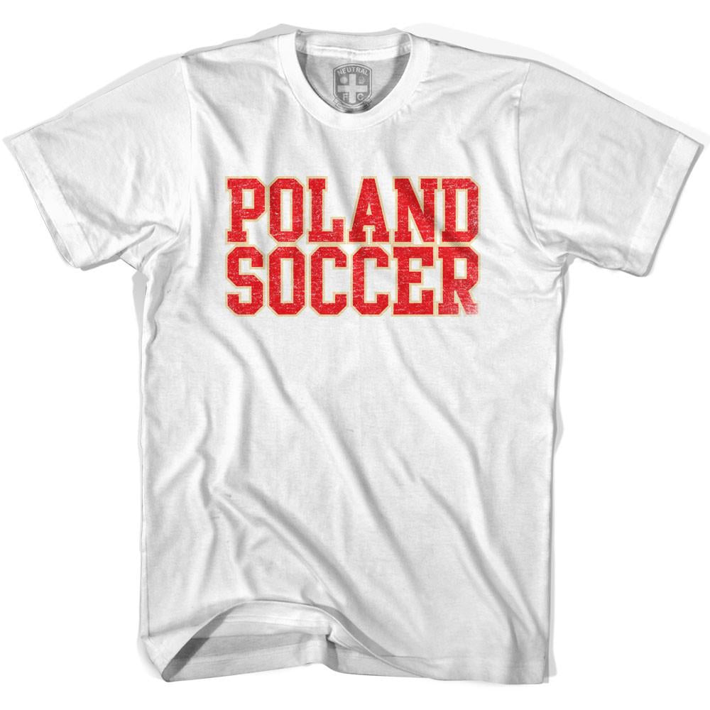 Poland Soccer Nations World Cup T-shirt in White by Neutral FC