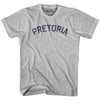 Pretoria City Vintage T-shirt in Grey Heather by Mile End Sportswear