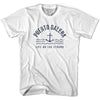 Puerto Rico Anchor Life on the Strand T-shirt in White by Life On the Strand