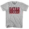 Qatar Soccer Nations World Cup T-shirt in White by Neutral FC