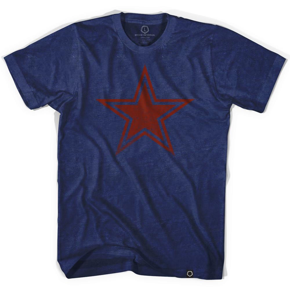 Star Indigo Soccer T-shirt in Indigo by Ultras