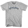 Reykjavik City Vintage T-shirt in Grey Heather by Mile End Sportswear