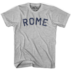 Rome City Vintage T-shirt in Grey Heather by Mile End Sportswear