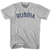 Russia City Vintage T-shirt in Grey Heather by Mile End Sportswear
