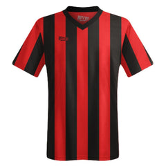 Ultras Custom San Siro Team Soccer Jersey in Black/Red by Ultras