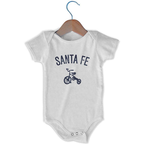 Santa Fe City Tricycle Infant Onesie