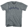 Sarajevo City Vintage T-shirt in Athletic Blue by Mile End Sportswear