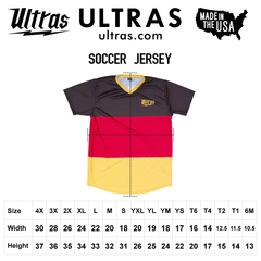Ultras Custom Hoops Bold Team Soccer Jersey