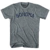 Sonoma City Vintage T-shirt in Athletic Grey by Mile End Sportswear