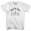South Anchor Life on the Strand T-shirt in White by Life On the Strand