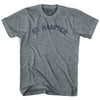 St. Maarten City Vintage T-shirt in Athletic Blue by Mile End Sportswear