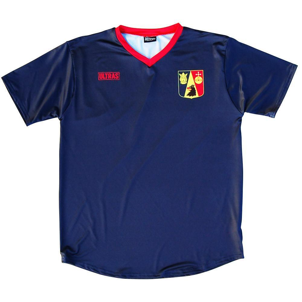 Stockholm City Soccer Jersey in Navy by Ultras