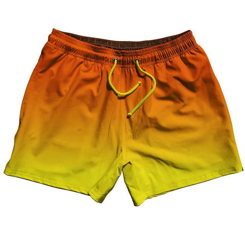 Sunset Ombre Swim Shorts 5""