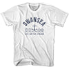 Swansea Anchor Life on the Strand T-shirt in White by Life On the Strand